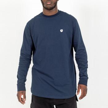 Tshirt Oversize HEM Bleu - Manche Longue - DC Jeans