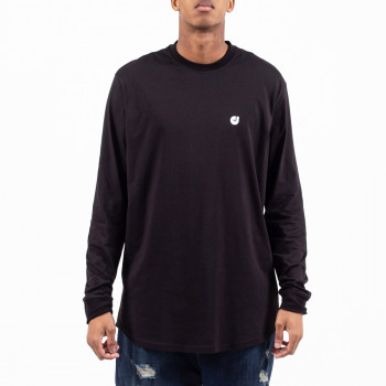 Tshirt Oversize HEM Noir - Manche Longue - DC Jeans