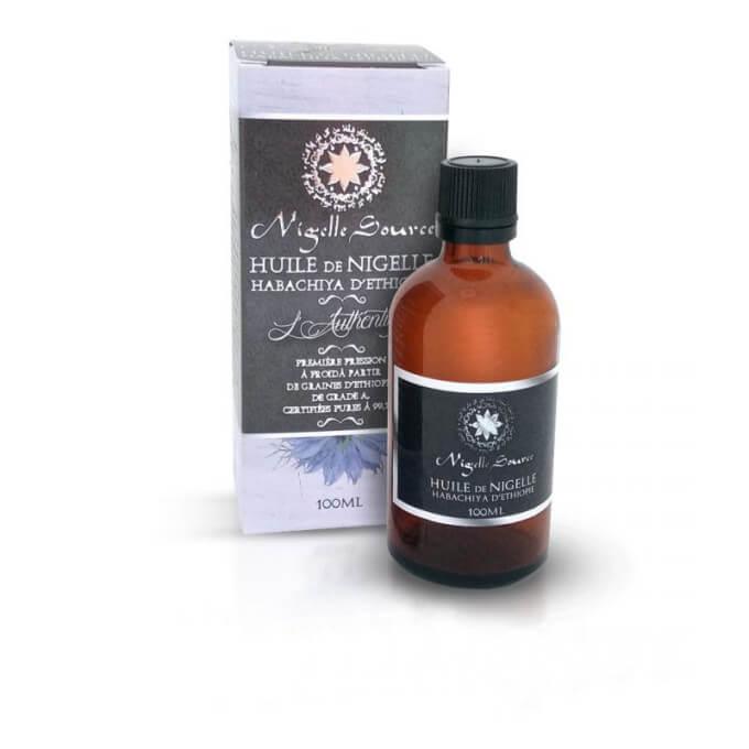 "Huile de Nigelle ""Habachiya"" - Ethiopie - Graine de Grade A - Pureté 99,7% - Certifiée Pressée à Froid – 100 ml - Nigelle Source"