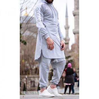 Qamis court gris Qaba'il : Behood