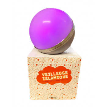 Veilleuse Islamique, Coranique pour Enfants - 6 couleurs, Bluetooth, Invocations, Coran, Adhan... - Mooslim Toys