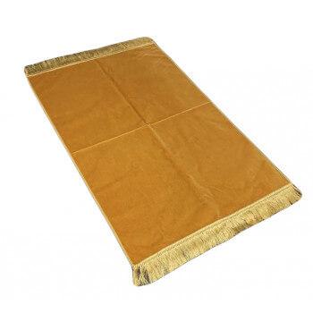 Tapis de Prière de Luxe - Couleur Beige Unis - Adulte - 73 x 110 cm