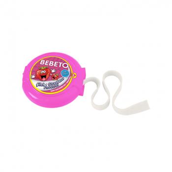 Bonbons Super Long Bubble Gum - Fraise - Bebeto - Halal - Sachet 180 gr