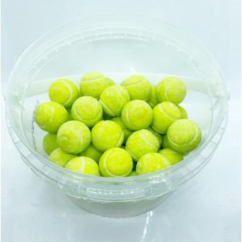 Bonbons Balle de Tennis - Mixe de Fruits Boule de Bubble Gum - Pompito Bebeto - Halal - Boite de 250gr