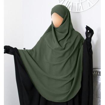 Hijab / Khimar Extra Long Hafsa - Kaki - Umm Hafsa