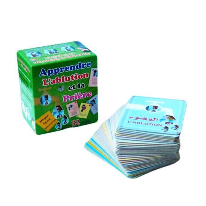 32 cartes Apprendre l'Ablution et la Prière - Digital Future - Maktabatouna