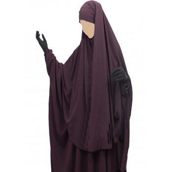 Hijab / Khimar Cape - Prune - Umm Hafsa