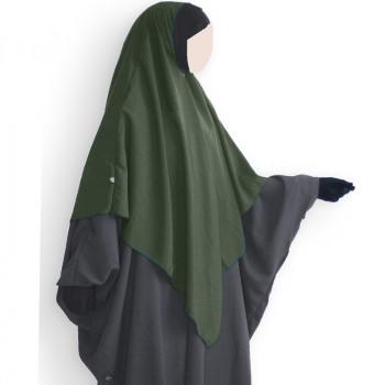 Hijab / Khimar Lycra - Kaki - Umm Hafsa