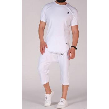 Sarouel et T-shirt blanc, ensemble Qaba'il : Nautik New 2020