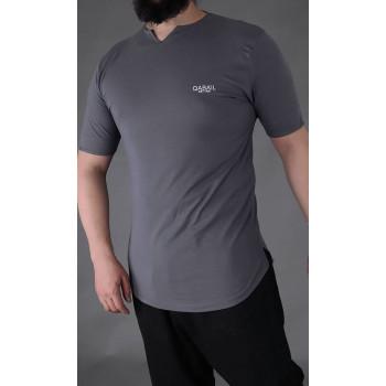 T-shirt Level Anthracite Qaba'il : manches courtes