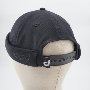 Couvre Chef - Docker Hat TWILL Noir- DC Jeans