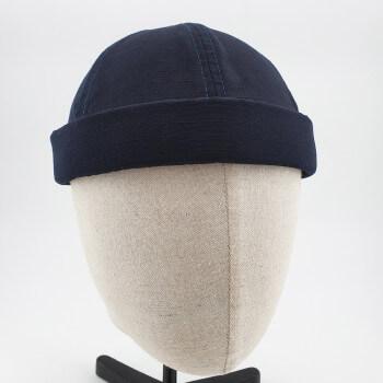 Couvre Chef - Docker Hat Ripstop - Bleu Nuit - DC Jeans