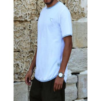 T-Shirt Oversize 100% coton - Blanc - Rayane