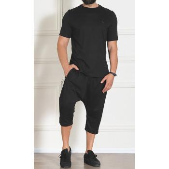 Sarouel et T-shirt Noir, Ensemble Qaba'il : EDGE - New 2020