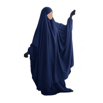Big Jilbab 2 Pièces Jupe - Bleu - Jilbeb Umm Hafsa