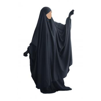 Big Jilbab 2 Pièces Jupe - Gris - Jilbeb Umm Hafsa