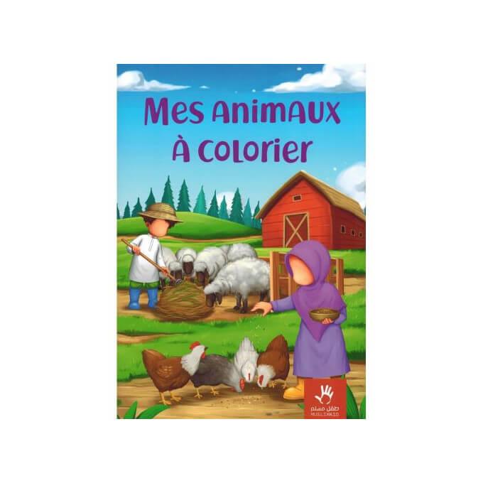 Mes Animaux à Colorier - Edition Muslim Kid