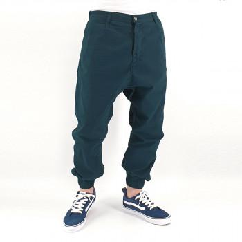 Saroual Chino Tissu Léger - Pantalon Ville Strech Vert Pétrol - Usual Fit - DC Jeans