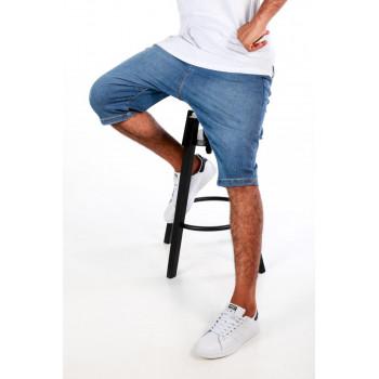 Saroual DB1 NIL - Short Jeans - Coupe Djazairi - Stone - Timssan