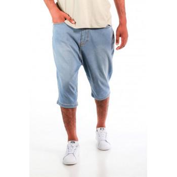 Saroual DB1 NIL - Short Jeans - Coupe Djazairi - Bleach - Timssan