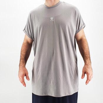 Tshirt Oversize BAT Gris Clair - Manche Courte - DC Jeans