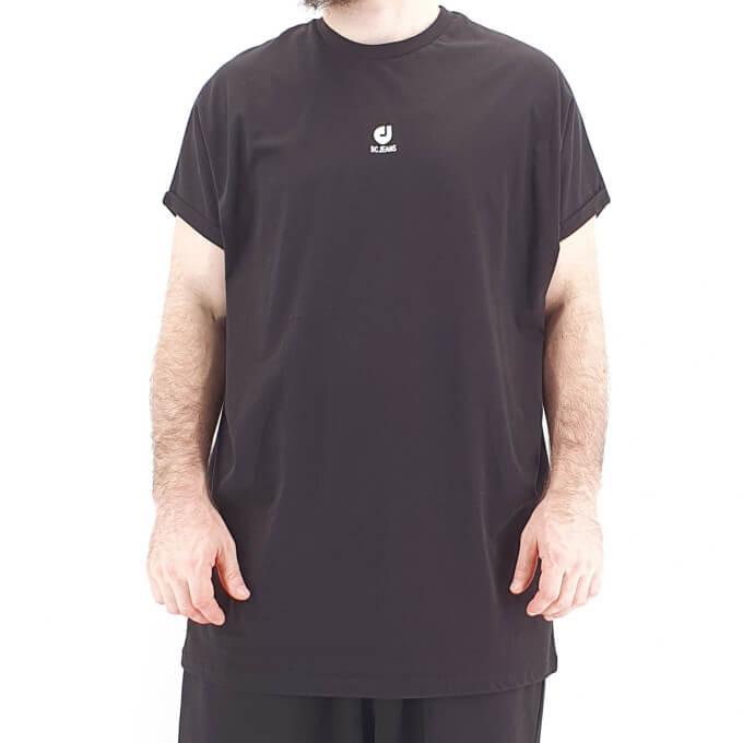 Tshirt Oversize BAT Noir - Manche Courte - DC Jeans