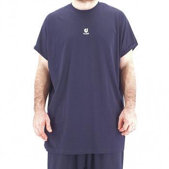 Tshirt Oversize BAT Bleu Marine - Manche Courte - DC Jeans
