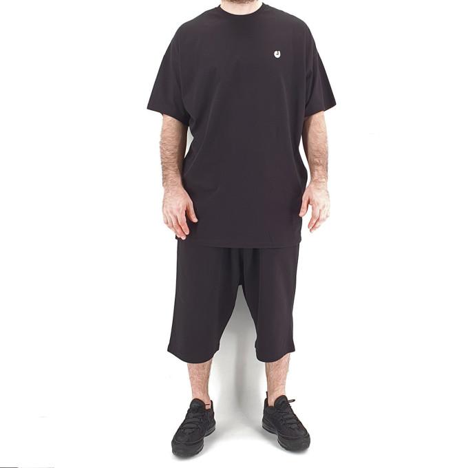 Ensemble Hem Noir : Tshirt Oversize + Saroual - Manche Courte - DC Jeans