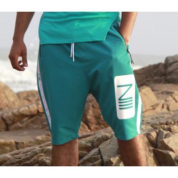 Saroual de Bain NIII - Turquoise - Coupe Djazairi - Na3im