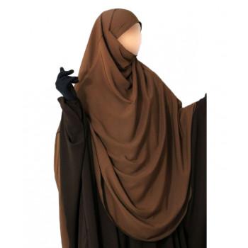 Hijab / Khimar Hafsa - Extra Long - Cannel - Umm Hafsa