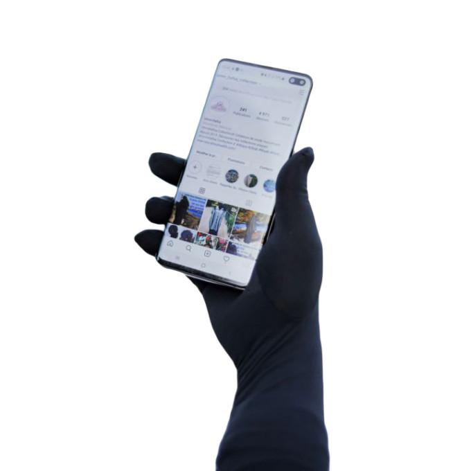 Gant Tactile - Noir - Umm Hafsa