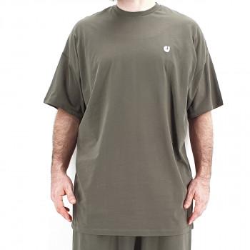 Tshirt Oversize WIDE Kaki - Manche Courte - DC Jeans