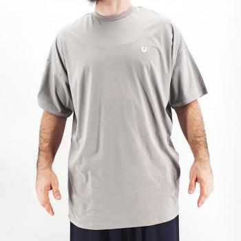 Tshirt Oversize WIDE Gris Clair - Manche Courte - DC Jeans