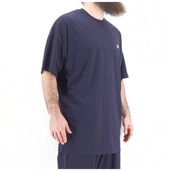 Tshirt Oversize WIDE Bleu Marine - Manche Courte - DC Jeans