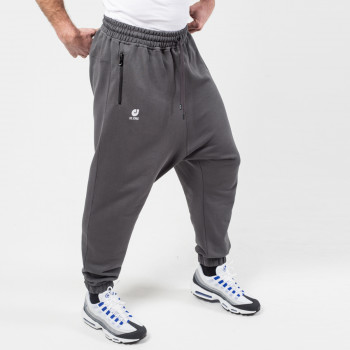 Sarouel Pantalon Jogging Basic Gris Anthracite - DC Jeans