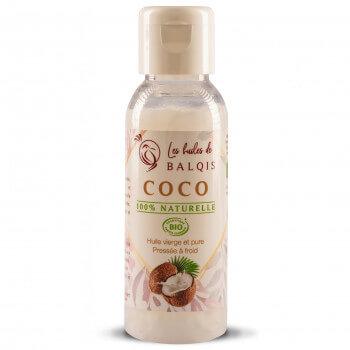 Huile de Coco BIO - 50 ml - Les Huiles Balqis