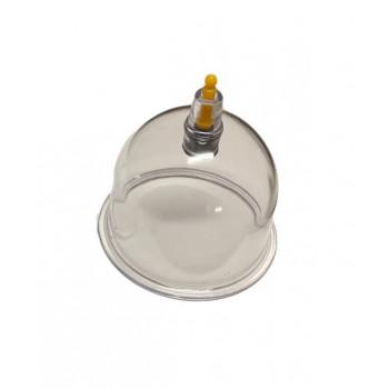Grande Ventouse Plastique - Qualité A Valve Jaune Diamètre 6,80 cm