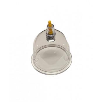 Moyenne Ventouse Plastique - Qualité A Valve Jaune Diamètre 6 cm