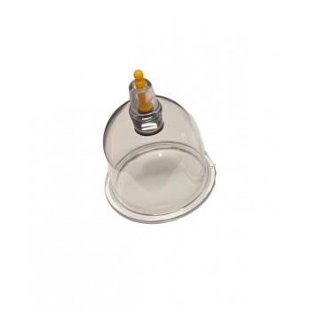 Petite Ventouse Plastique - Qualité A Valve Jaune Diamètre 5,20 cm