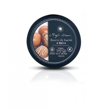 Beurre de Karité BIO - Cosmo Organic - 100 gr - Nigelle Source