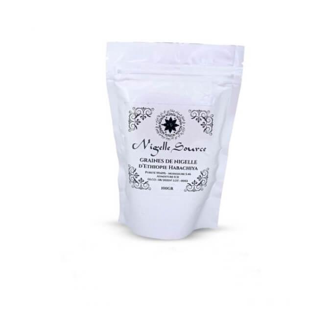"""Graine de Nigelle """"Habachiya"""" - Ethiopie - Grade A pureté 99% certifiée - 100 gr - Nigelle Source"""