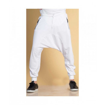 Sarouel jogging blanc Qaba'il : léger - 3024
