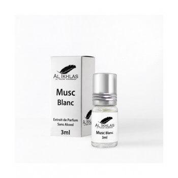 Musc Blanc - 3 ml - Musc Ikhlas