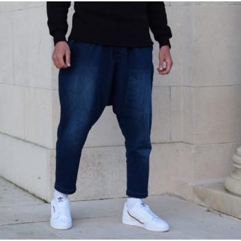 Sarouel Jeans Indigo Stretch Confort- Sahabi