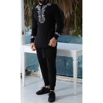 Sweat Afro Up Noir Qaba'il : Etniz Africaine