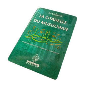 La Citadelle du Musulman Vert Foncé, Français Arabe et Phonétique - Format de Poche - Al Qahtani- Edition Ennour