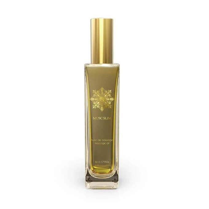 Musc Slim - Huile de Massage Parfumée au Musc - 50 ml - El Nabil