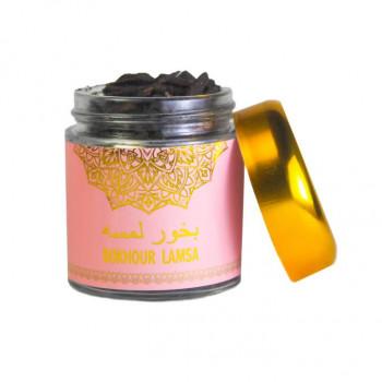 Encens Boisé - Bakhour Lamsa - Parfums d'Ambiance - Diamant - 80 gr