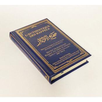 L'Authentique des Rappels - Cheikh Albani - Bleu - Format de Poche - Edition Dine Al Haqq