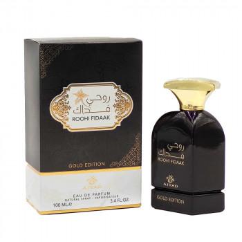 Roohi Fidaak - Gold Edition - Eau de Parfum pour Homme - 100ml - Ajyad - Oudh Al Anfar